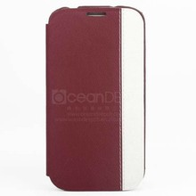 stylish leather flip case for samsung galaxy core plus case alibaba express