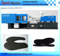 plastic shoe sole making machine /injection molding making equipment