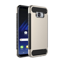 High Quality Full Protective Hybrid Combo PC TPU Bumper Case For Samsung Galaxy S8 Plus