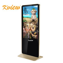 Shenzhen 65inc floor standing customized big display lcd digital signage