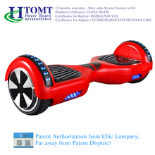 CHIC Licence manufacturer 2 wheel electric scooter self balancing hover board electric self balancing scooter