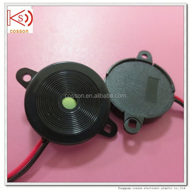 piezo emergency siren sound with wire
