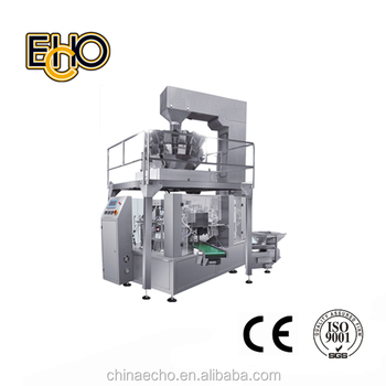 MR8-200R Preformed Bag Packing Machine / Packaging Machine
