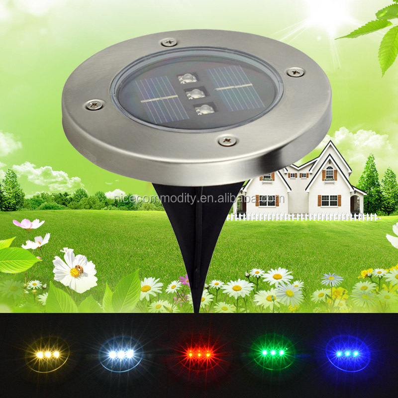 In ground solar garden path lights wholesale home suppliers alibaba aloadofball Image collections