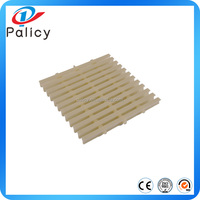 ABS, PP can be curved swimming pool overflow gutter grating, swimming pool grating