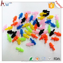 Silicone material swimming ear plugs