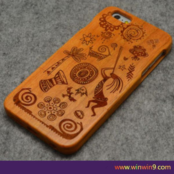 bamboo Wood Phone case for iphone,high quality custom logo phone wood back cover case