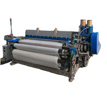 Textile weaving machine 190cm air jet loom changed from flexible rapier loom