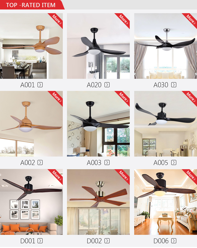 High quality multi-function wood color 3 blades electric ceiling fan with 24 W led light
