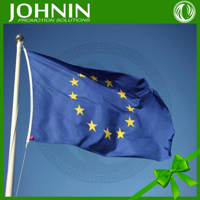 Large size outdoor display promotional printed European union flag