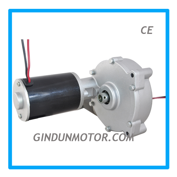 Hot dc micro worm gear motor for Golf Trolley Model ZY6812GZ