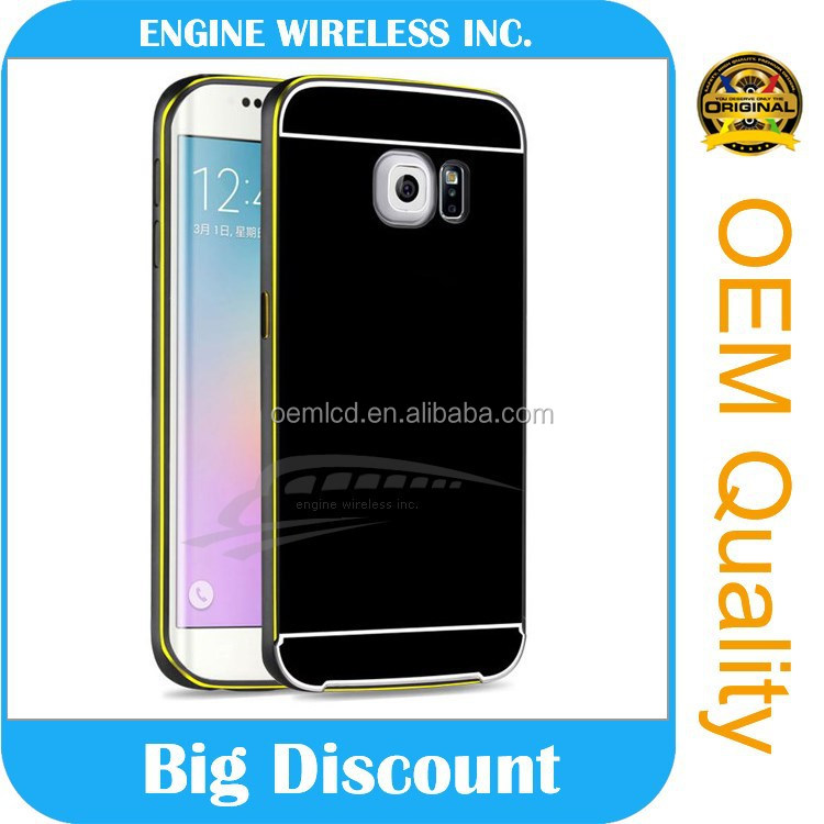Mobile phone shell case For samsung galaxy s3 9300,2 in 1 hybrid Bumber case