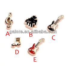 cheap price big wholesale glass floating memory locket charms