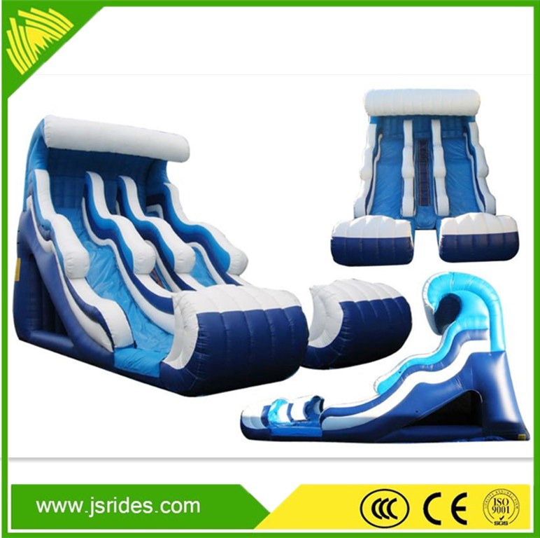 Water park equipment children inflatable water slide