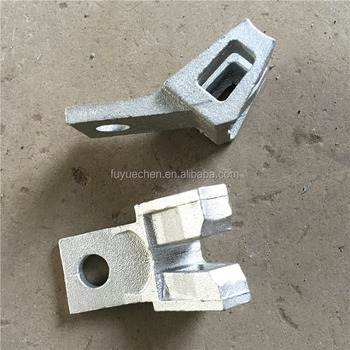 ringlock scaffolding ledger end with wedge