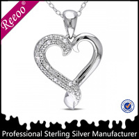 fashion silver necklaces designs heart shaped necklaces best girlfriends