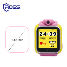 2017 top 20 android hot sale amazon call Promotional TFT kids smart watch with camera gps tracke wifi