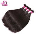 8A grade silky straight raw Brazilian virgin remy hair wholesale 100% natural hair extensions original human hair weave