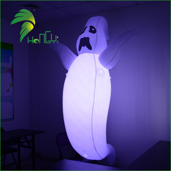 Inflatable Halloween Ghost for Lawn Decorations