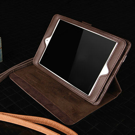 elegant wallet case for ipad mini, for ipad mini leather case