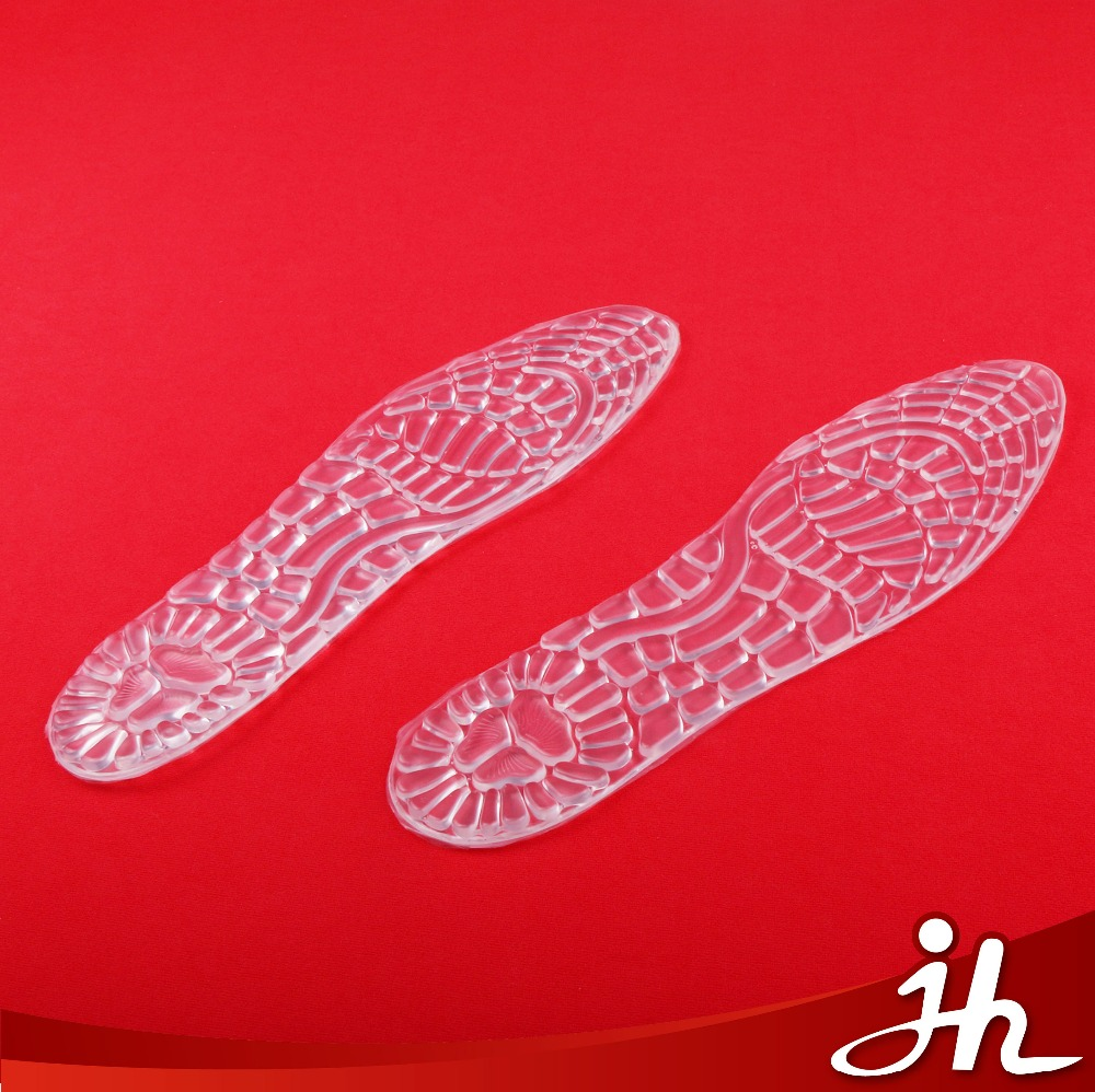 Most Popular transparent self-adhesive massage pu gel insole manufacturer
