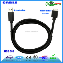 usb cable charger usb 3.0 micro b male to b female adapter