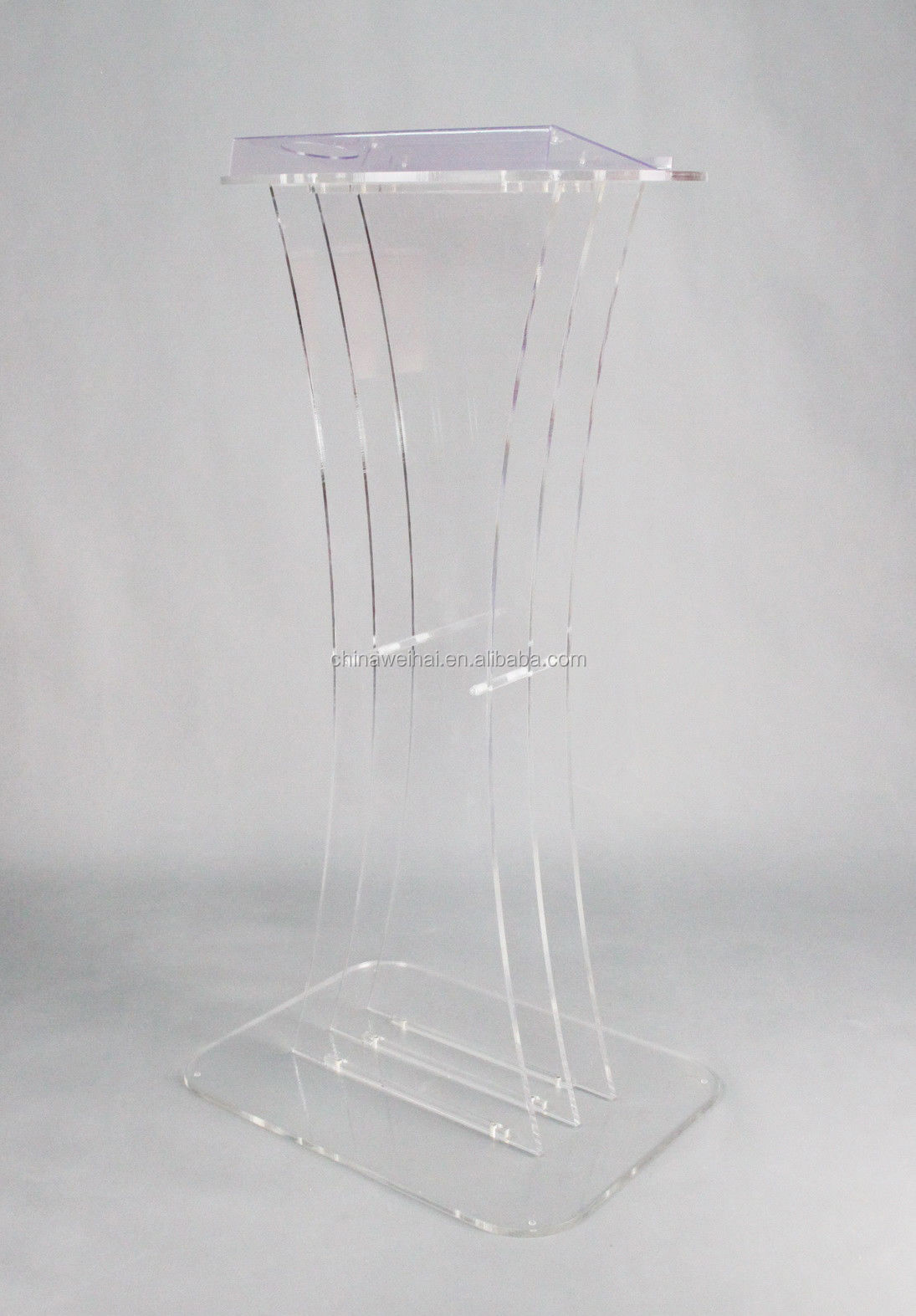 Acrylic  Church Podium Clear Pulpit Christian Lectern Lucite Church Pulpit