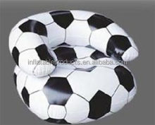 INFLATABLE SOFT CHAIR SOFA BLOW UP FOOTBALL SEAT GAMING CAMPING FESTIVAL NEW