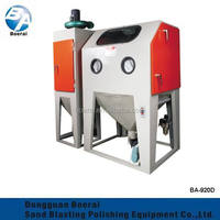 BA-920D standard manual electric sandblasting machine equipped with precipitron