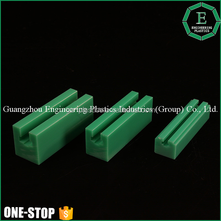 Abrasion resistance conveyor wear strips plastic uhmwpe hdpe upe bend chain guide