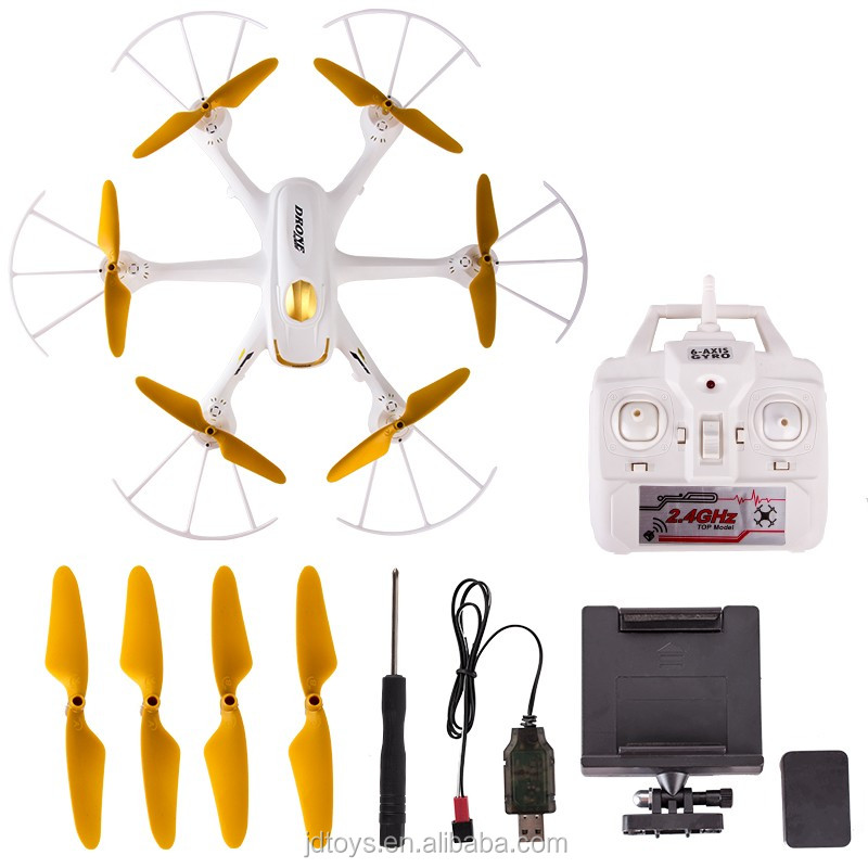 Professional RC Helicopter Drone WIFI Camera 360-Eversion 2.4G Remote Control 4 CH 6 Blades Flash Light Flying Plane Toy