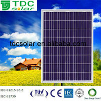 2014 hot selling solar panel 185w 24v poly photovoltaic panel price paneles solares