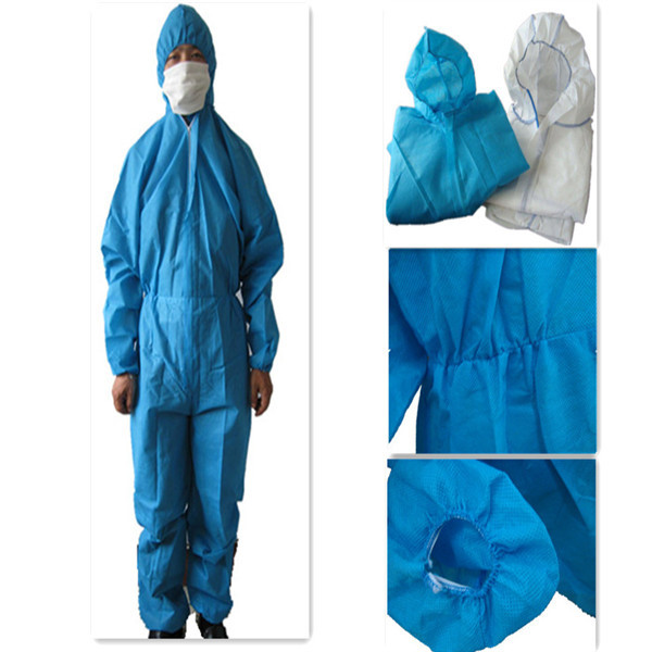 Protective clothing PP nonwoven cheap workwear disposable PP non woven protective clothing