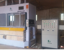 High Frequency Curved Plywood Press, Duotian