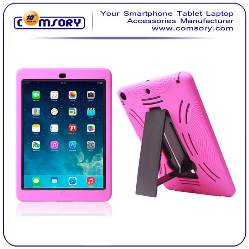 For iPad Air 3 in 1 hybird Shake Proof Case Cover with stand Function