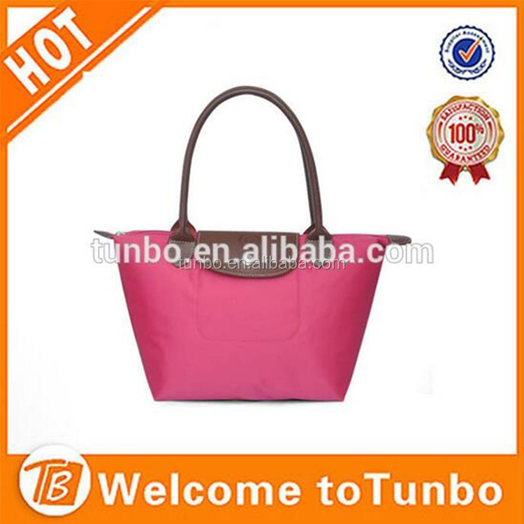 2016 Wholesale different colors cheap custom tote hand bag women