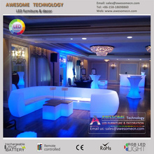 Colorful illuminated event lounge decor furniture (SF201)