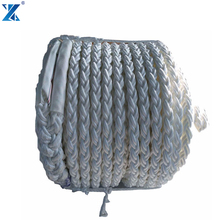 Marine equipment 8 Strand ope type Polypropylene material tow ropes tugboat rope