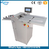 Automatic Feeding Digital Album Hardcover Creasing Machine