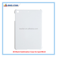 3d sublimation phone case for Ipad Mini 2 sublimation tablet case for ipad Mini/blank cover