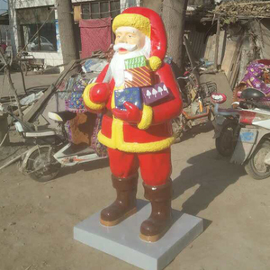 Customized father christmas figures