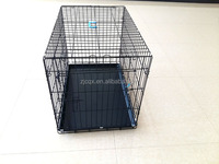 folding strong wire gauge foldable wire Dog Pet cage wholesale