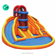Outdoor commercial colorful inflatable slide for sale