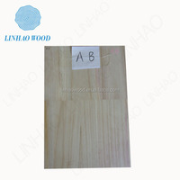 Factory Price Paulonwia Finger jointed Panel, Paulownia Edge Glued Panel, Paulownia Wood Panel