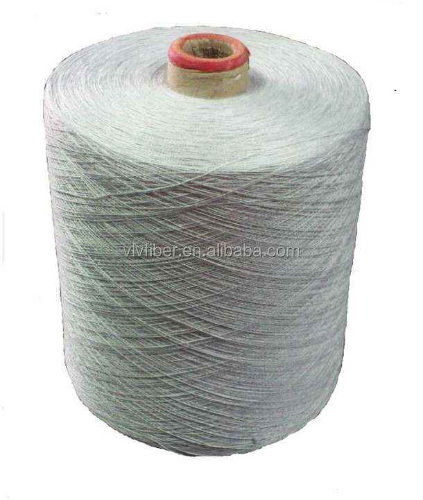 silver coated antimicrobial conductive fibre yarn