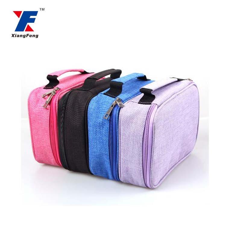 high quality large capacity 72 slots layered pencil case