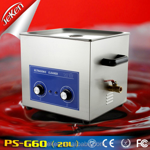 Ultrasonics Cleaner PS-G60 20L for False Teeth & Injector & Surgical Tools and Lab Instrument