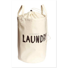 QJMAX Custom Printing Bathroom Waterproof Foldable Durable Heavety Duty Cotton Canvas Fabric Laundry Hamper