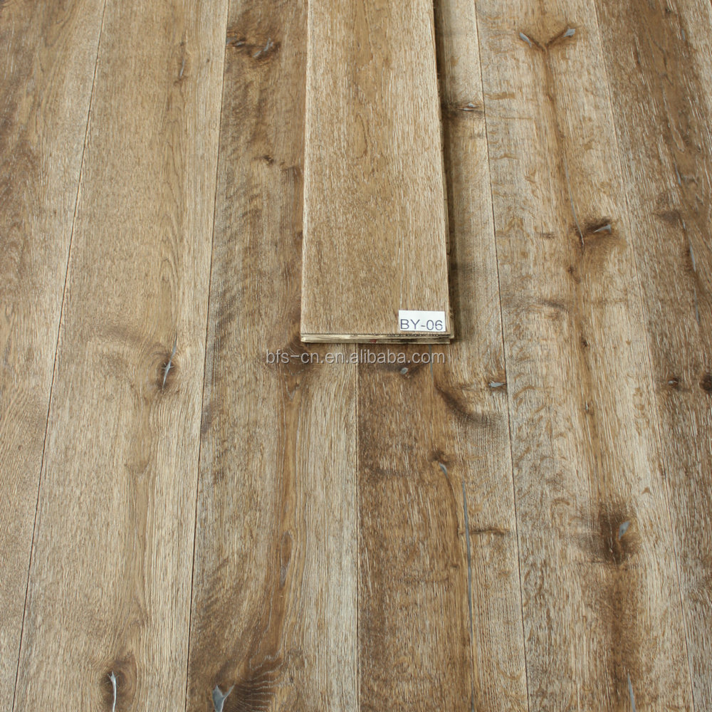 Designed for Americans smoked <strong>oak</strong> <strong>3</strong> - <strong>ply</strong> engineered Wood Flooring