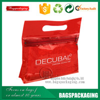 clear waterproof plastic red vinyl pvc zipper blanket bags wholesale